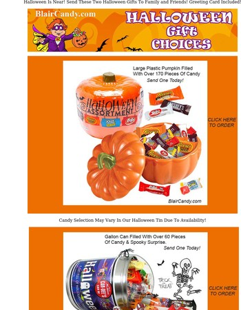 2 Awesome Halloween Gifts For You!