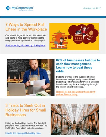 7 ways to spread fall cheer in the workplace