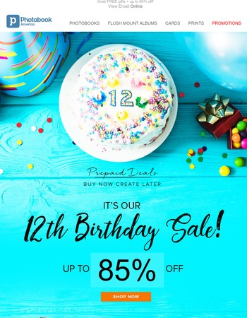 Exclusive invitation to our biggest Birthday Sale party!