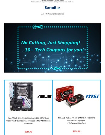 10+ Tech Coupons for October 10th