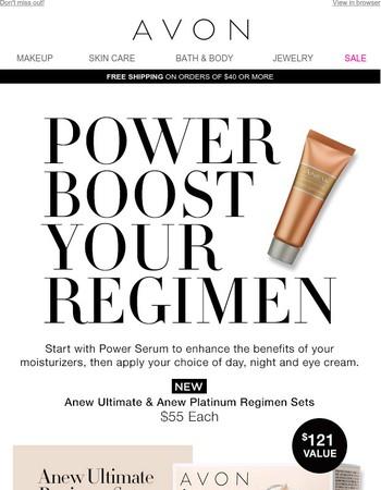 NEW! Skin Care Regimen Sets