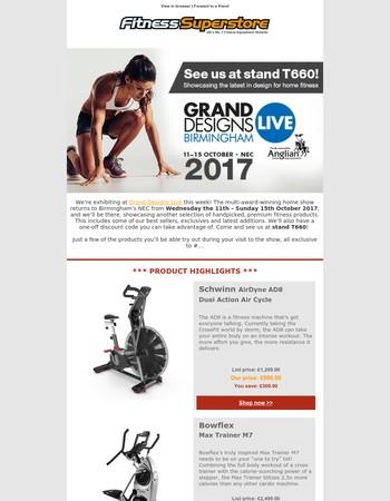 Fitness Superstore Newsletter