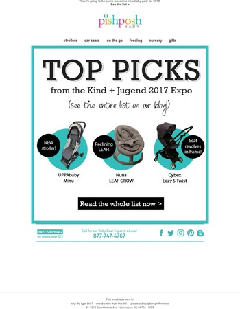 Our Top Picks from Kind+Jugend 2017!