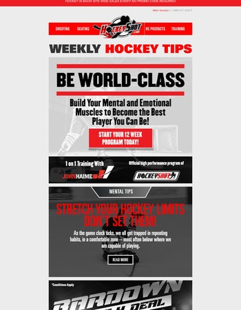 Mental Tips for the Hockey Season!