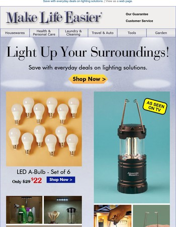Featured Items: Lighting Solutions