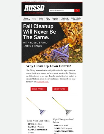 Fall Cleanup Will Never Be The Same...