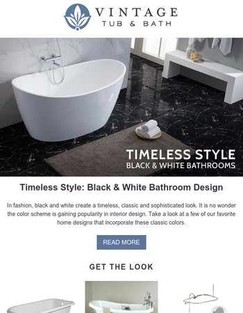 Bathroom designs with timeless style