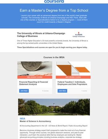 This week's dream schools: University of Illinois and HEC Paris