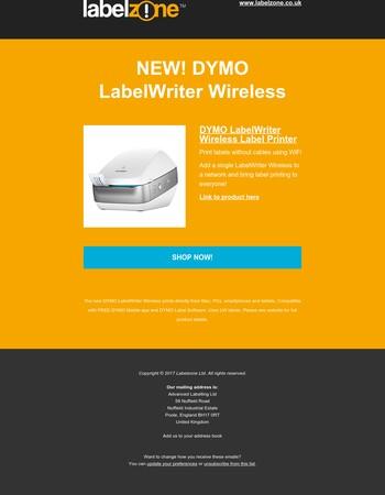 New Dymo Wireless