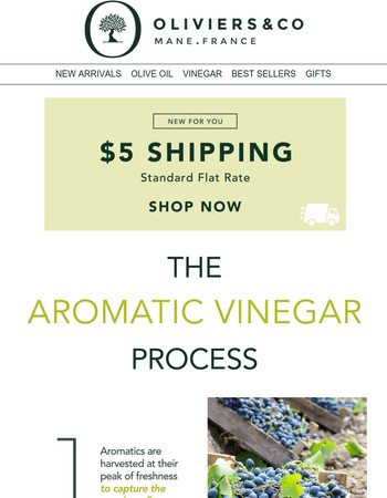 How It's Made: The Aromatic Vinegar Process
