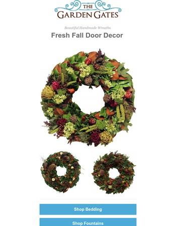 New Arrivals: Fresh Fall Decor