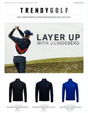 Layer Up With J.Lindeberg