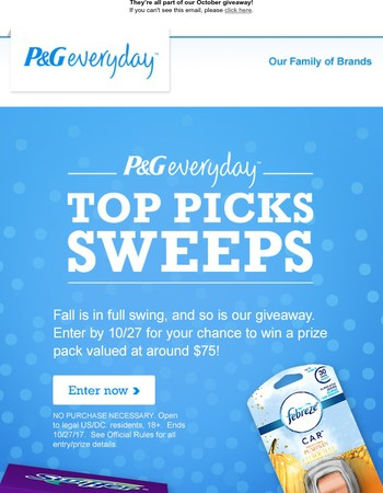 What do Swiffer, Gain and Febreze have in common?