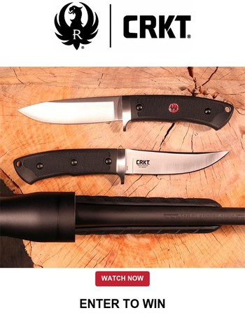Enter To Win | Ruger® Knives