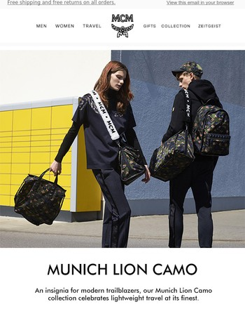 Made To Move: the Munich Lion Camo