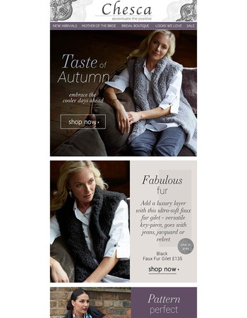 Taste of Autumn - Embrace the cooler days ahead