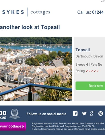 Reminder - you recently viewed Topsail