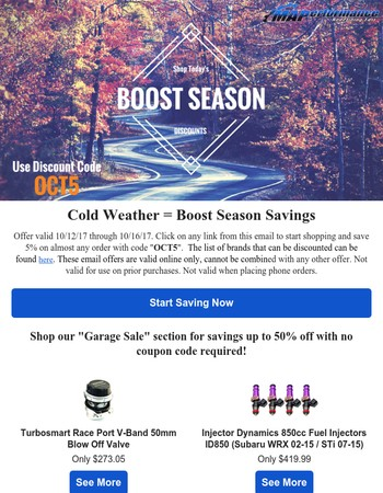 BOOST-OBER Sale Prices Have Arrived