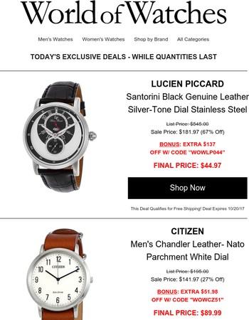 World Of Watches Newsletter
