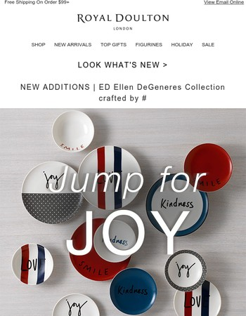 Jump for Joy | New lines added