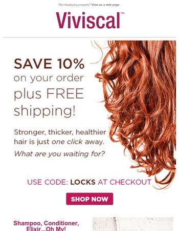 Sick of Bad Hair Days? Viviscal Can Help