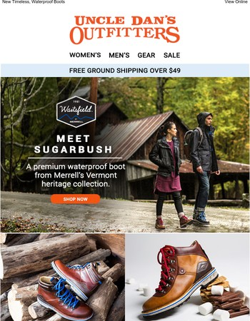 New Arrivals: Merrell Classics for the Scenic Route