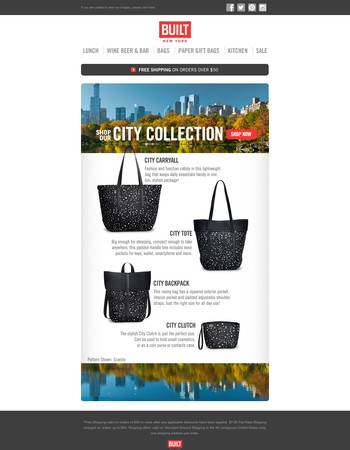 Don't Miss Out. Shop Our Beautiful City Collection! Just in Time for Fall.