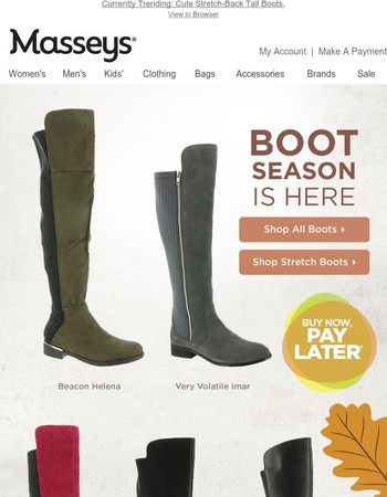 Boot Season Is Here