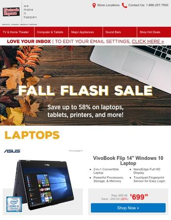 Fall Laptop ⚡ Flash ⚡ Sale