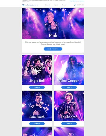 In Case You Missed It - Pink, Jingle Ball, Alice Cooper and more!
