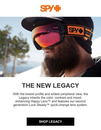 It's All View in the New Legacy Goggle