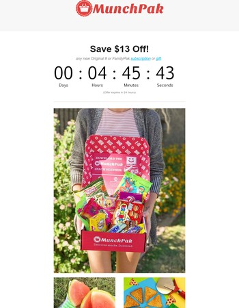$13 Off Flash Sale Ends in 5 Hours!