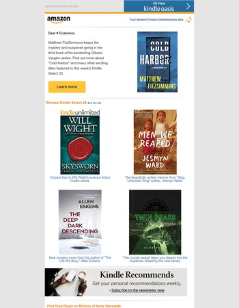 Amazon.com: Kindle Select 25