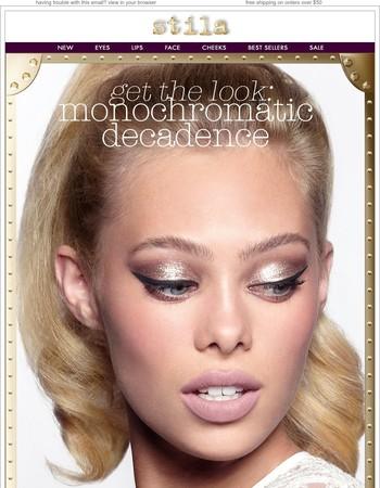 Monochromatic Decadence + Free Lipstick Duo