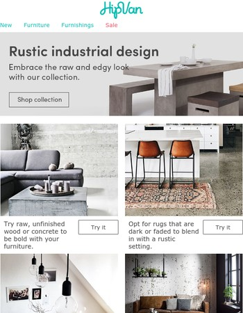 Rustic industrial lovers, this one's for you!