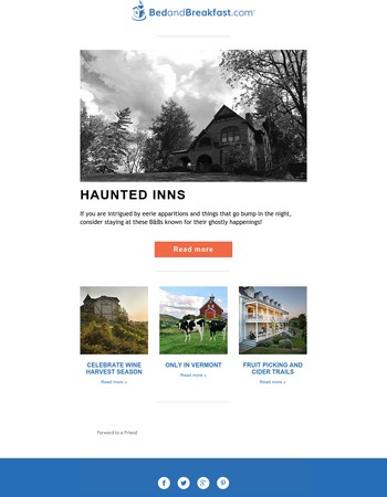 Don't Be Spooked—Haunted B&Bs are Here!