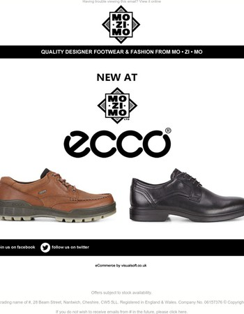 ** BRAND LAUNCH | Introducing ECCO - Our Latest Men's Brand **