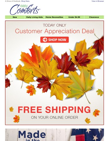 Just For You – Enjoy Free Shipping