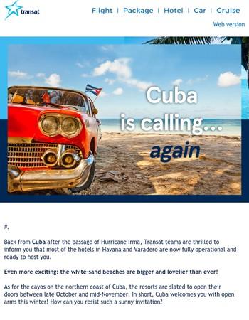 ☀ Good news from Cuba ☀
