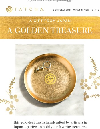 A Golden Gift From Japan
