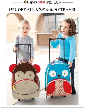 Calling All Parents!! 15% OFF Baby Travel Happening Now
