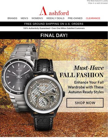 Weekly Deals on Fall Favorites End Tonight