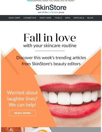 Fall In Love With Your Skincare Routine