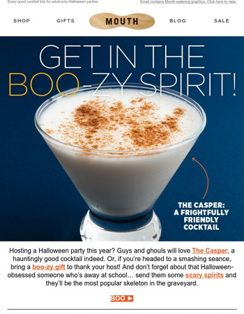 Time to get in the BOO-zy spirit!