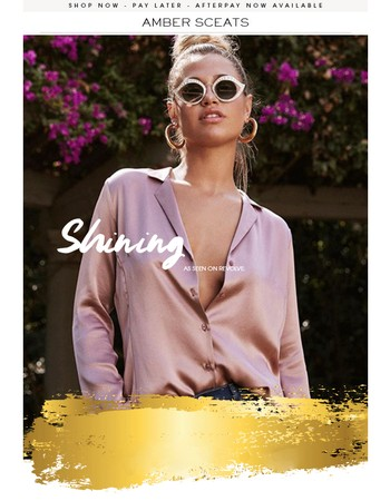 SHINE this Spring - Shop the HOTTEST pieces of the Season!