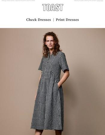 Check Dresses | Print Dresses