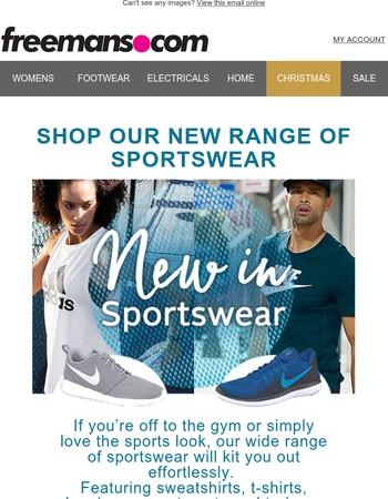 New In Sportswear...