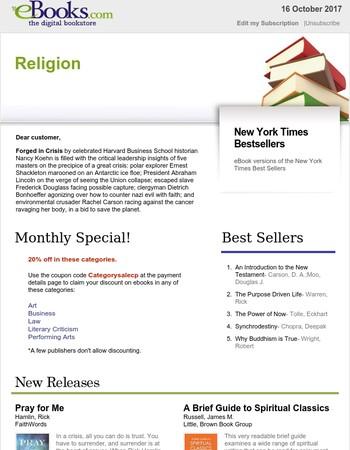 Religion: A Brief Guide to Spiritual Classics...