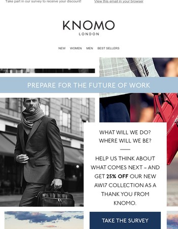 Workers of the future! Get 25% off Knomo