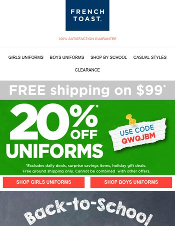 ✔Stock up on School Essentials for FALL